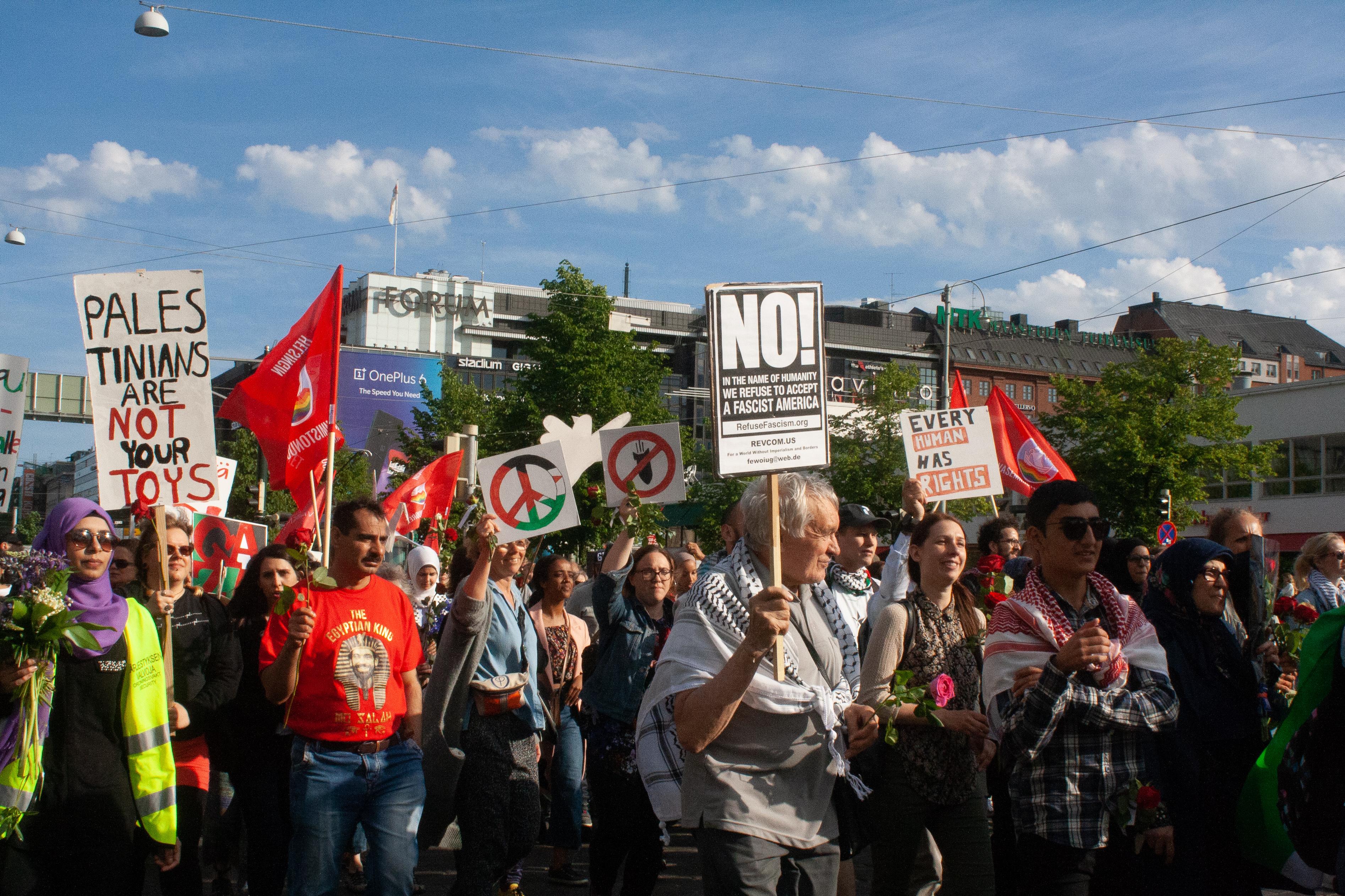 ICAHD Finland vastustaa kokoontumislain muuttamista
