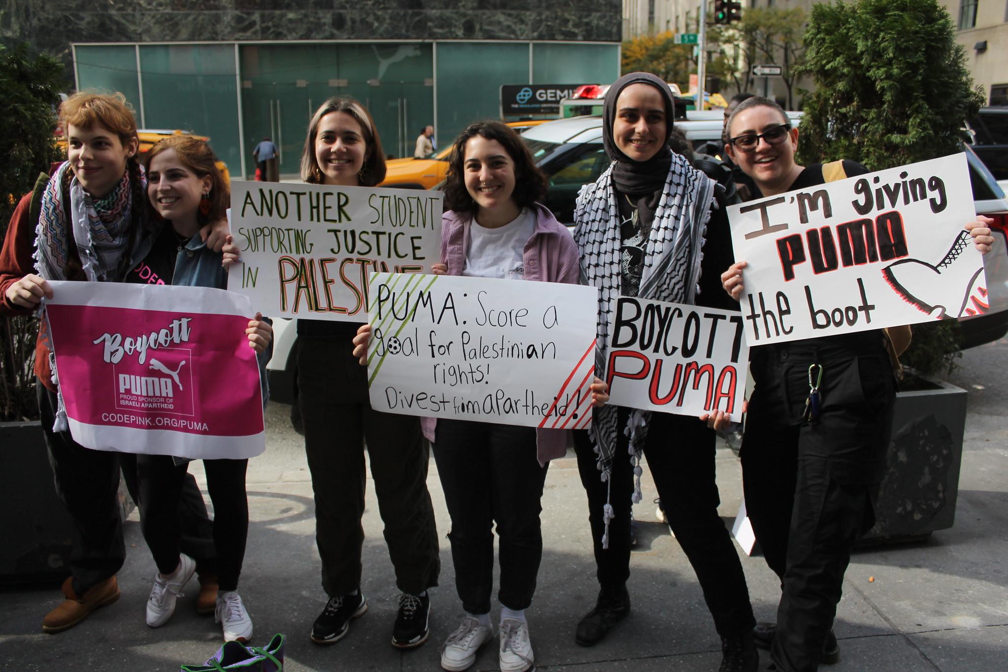 maailma.net: Protestiliike vaatii urheilutarvikejätti Pumaa luopumaan yhteistyöstä Israelin jalkapalloliiton kanssa